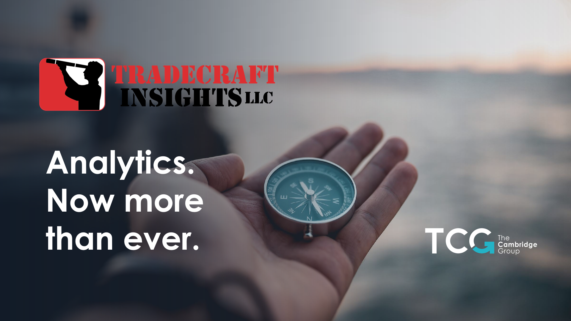 Analytics. Now more than ever. thumbnail