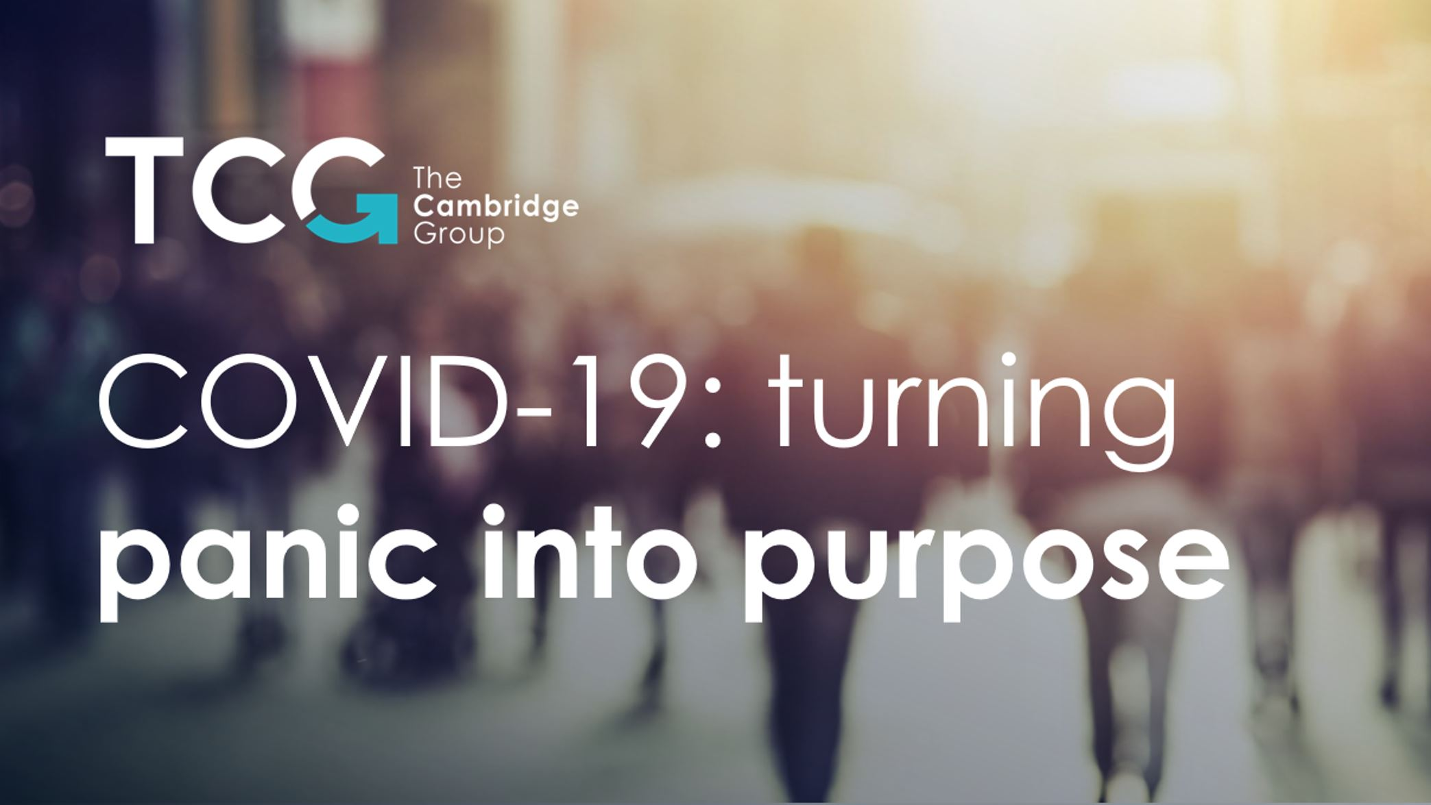 Turning Panic into Purpose: Using Demand Strategy Principles to Win in the COVID-19 Era thumbnail
