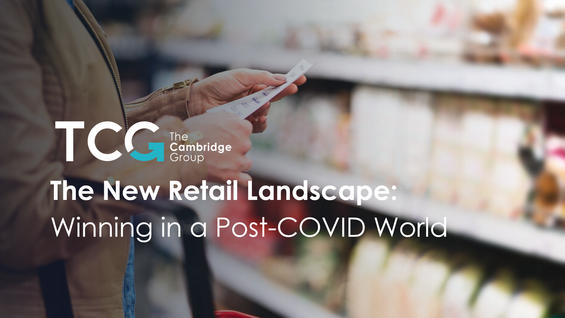 The new retail landscape: winning in a post-COVID world thumbnail
