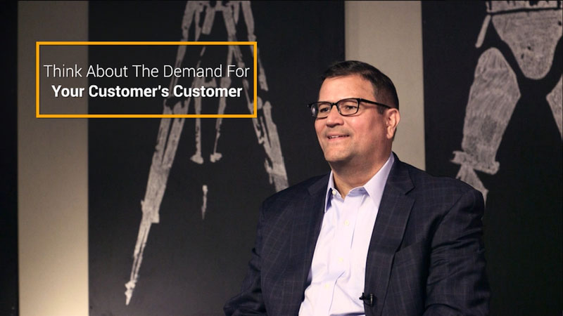 Think about the demand for your customer's customer thumbnail